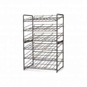 Simple Trending 2 Pack Can Rack Organizer