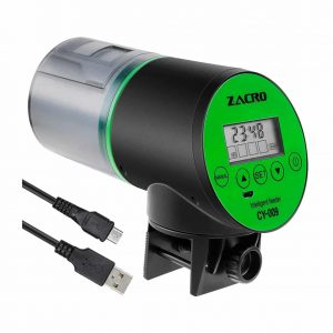 Zacro Automatic Fish Feeder-Rechargeable Timer Fish Feeder