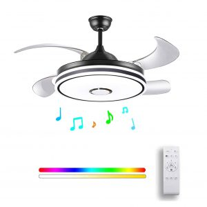 HOREVO Ceiling Fan with Light and Remote