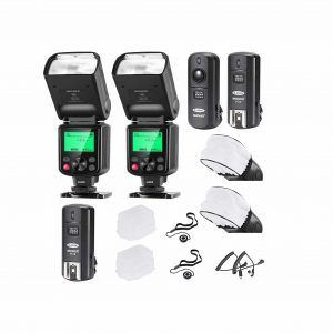 Neewer 2 Packs Wireless Flash Trigger