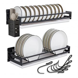 Rongte Detachable Wall Mounted Dish Drying Rack