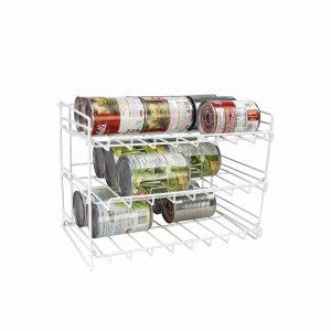 Home Basics Can Rack Organizer Food Storage