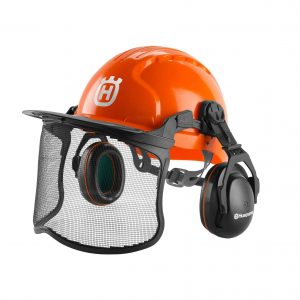 Husqvarna 592752602 Orange Forestry Helmet