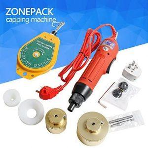 ZONE PACK Manual Electric Bottle Cap Sealing Machine