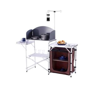 CampLand Folding Cooking Table