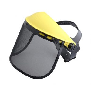 Cool Wind Safety Face Shield Forestry Helmet
