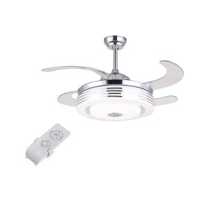 HarBin-Star 42 Inch Bluetooth Fan Chandelier