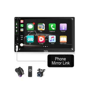 Hieha Double Din Car Stereo with Bluetooth