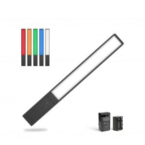 GVM Handheld RGB Photography Light, LED Video Light Wand