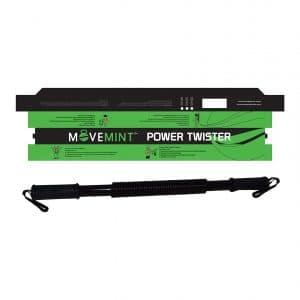 MOVEMINT Chest Resistance Power Twister Spring Bar Exerciser
