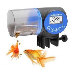Noodoky Automatic Fish Feeder, Moisture-proof