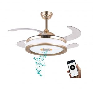 BAYSQUIRREL Ceiling Fan with Light and Remote