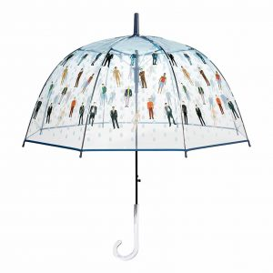 Raining Men Clear Bubble Umbrella