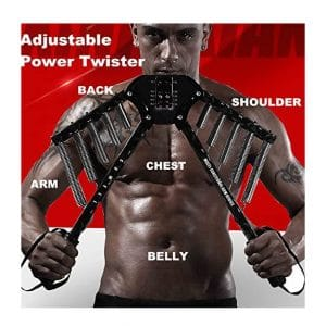 SOWELL Arm 4 in 1 Exercises Power Twister with Adjustable Resistance