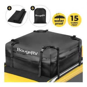 BougeRV Roof Cargo Carrier Bag