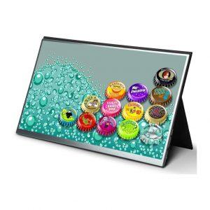 HONGO 15 Inch Ultra-Thin Portable Gaming Monitor