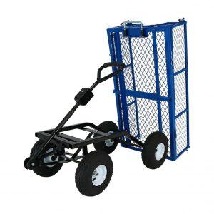 Sunnydaze Steel Dump Garden Cart