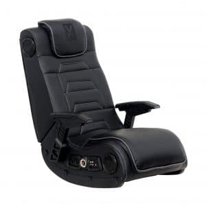 X Rocker Floor Gaming Chair with a Headrest
