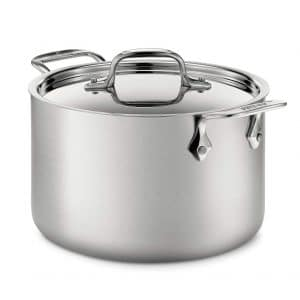 All-Clad BD55512 D5 Stock Pot