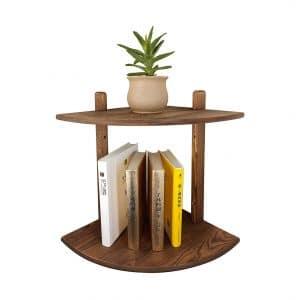 OUEEGER Corner Floating Shelves