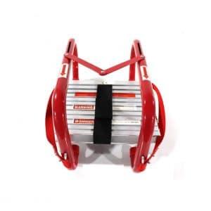 PetGirl Portable Fire Ladder 50Ft 5 & 6 Story Escape Ladder