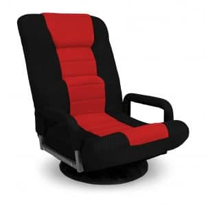 Best Choice Products Gaming Floor Chair - Red