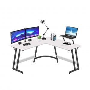 LUFEIYA L-Shaped Corner Computer Desk