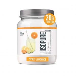 Isopure Infusions Isolate Protein Powder