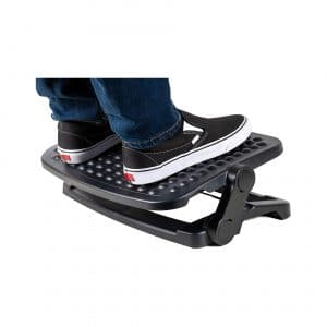 Level Up Footrest 3 Adjustable Heights Non-Slip Surface