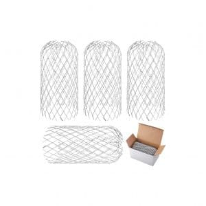 URATOT 4 Pack Aluminum Gutter Guards