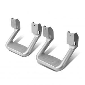 Auto Dynasty Aluminum Side Assist Step for Trucks and Pickups (Chrome)