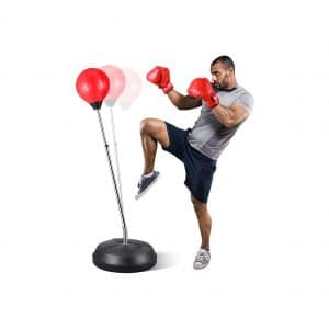 MaxKare Adjustable Punching Bag for Adults and Kids