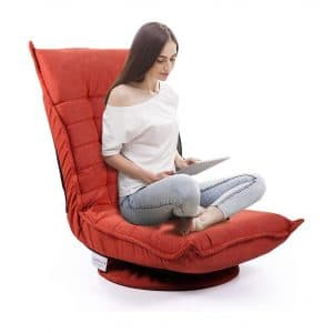 JAXSUNNY Floor Gaming Chair for Adults and Teens