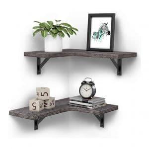 Homemaxs Corner Floating Shelves