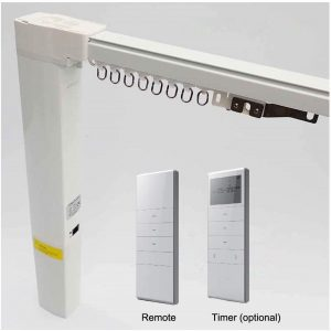 SimpleSmart Battery Powered Electric Curtain