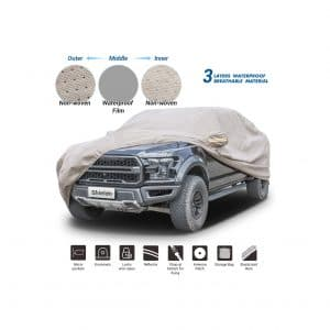 Shield Thick Shell Car Cover Weatherproof Windproof